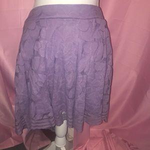 Torrid Lavender Lace Shorts Size 1